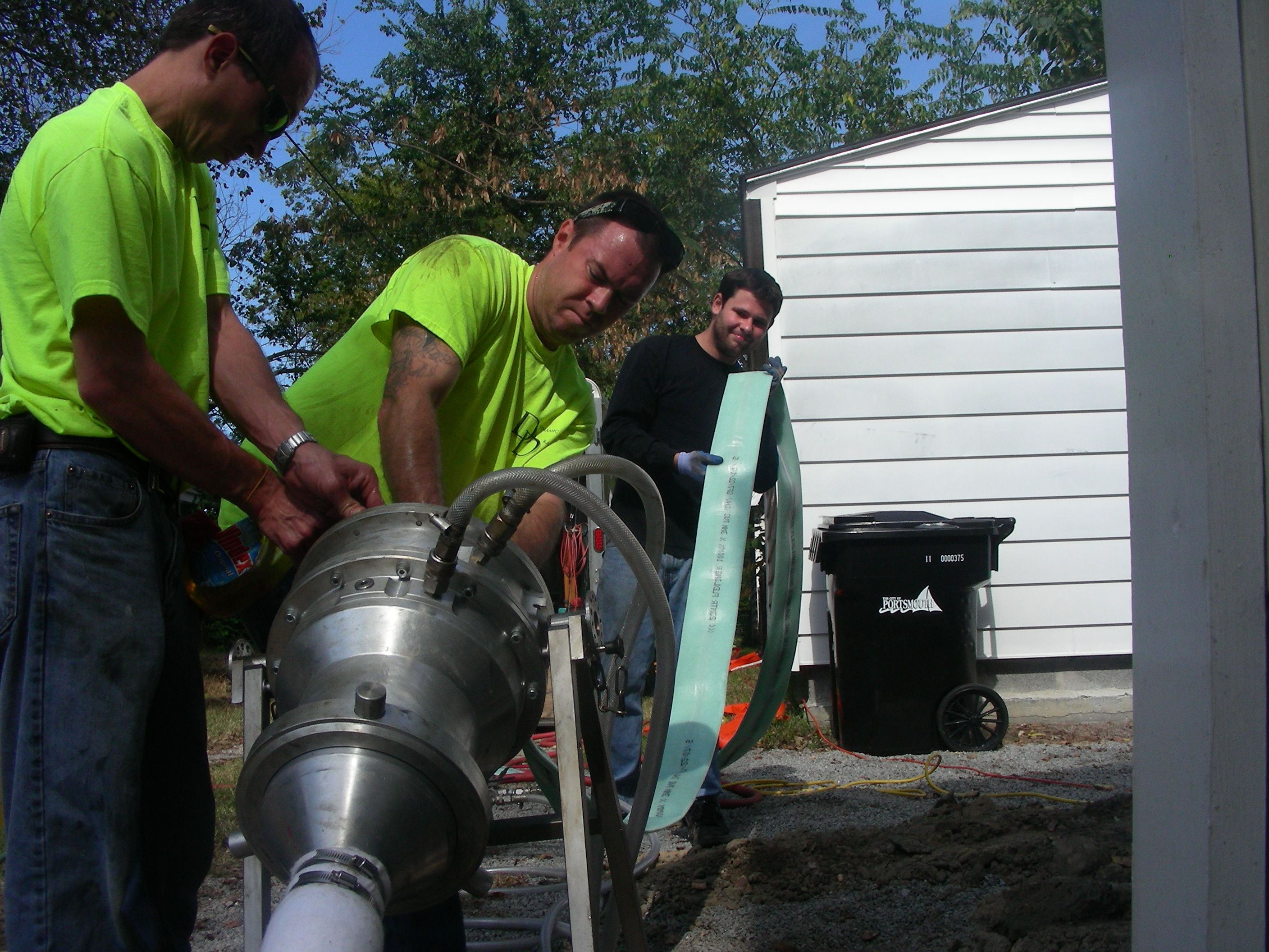 Trenchless Pipe Installation and Repair