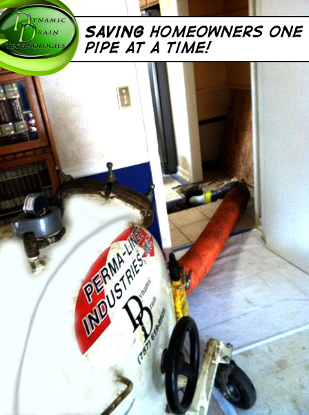 sewer pipe relining dc