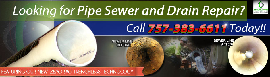 trenchless pipe lining ad