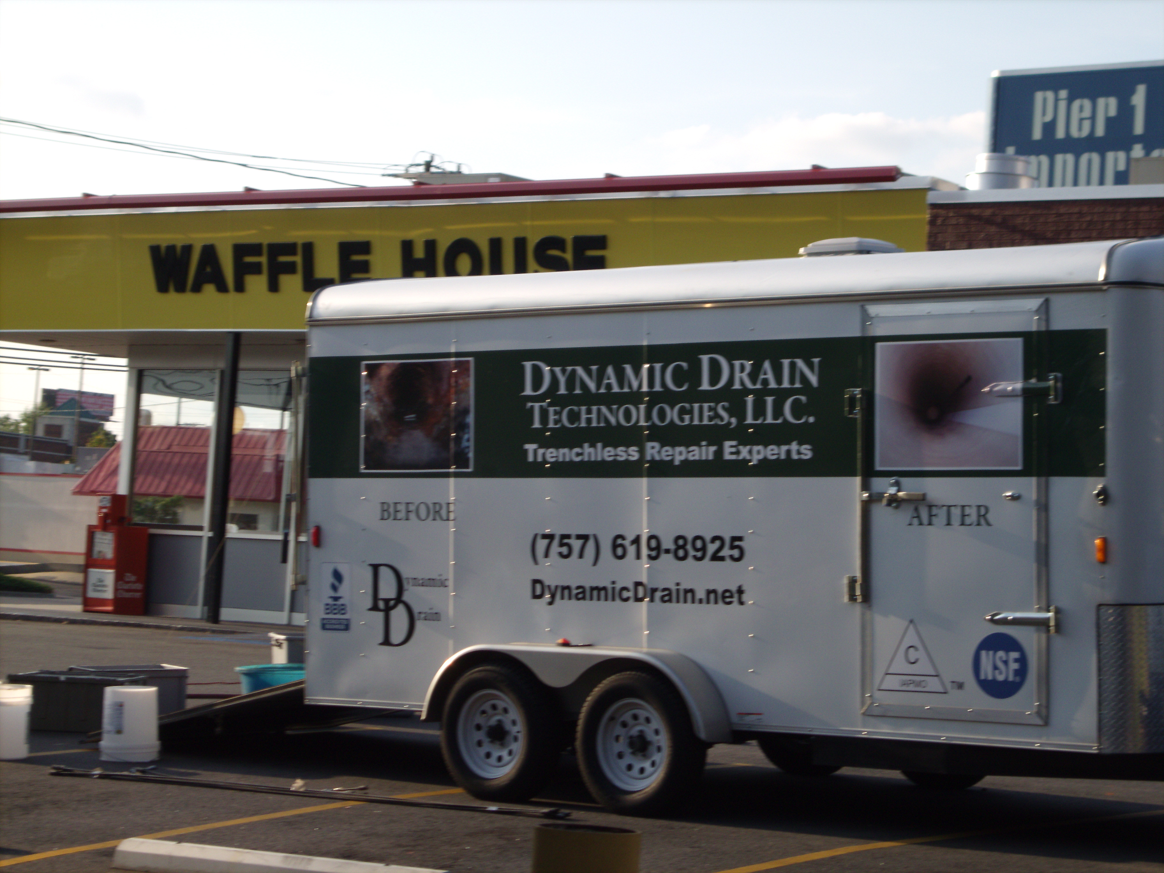 Cipp pipe repair in charlotte nc dynamic drain mobile trenchless sewer repair unit in charlotte malvernweather Gallery